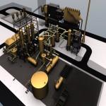 Metallurgical sulfuric acid simulation